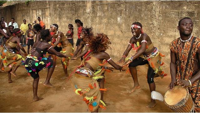 Fotos de carnaval da guine bissau