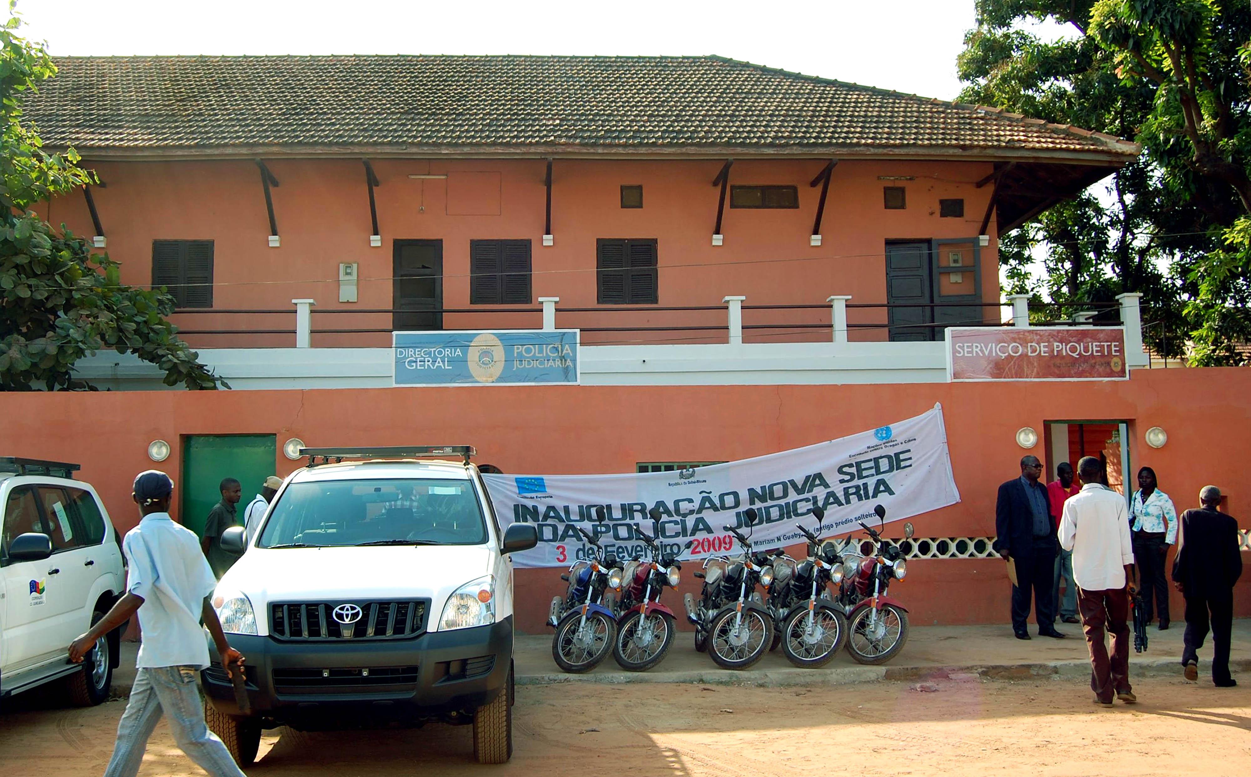 PJ - Inauguração da sede da Polícia Judiciária em Bissau.