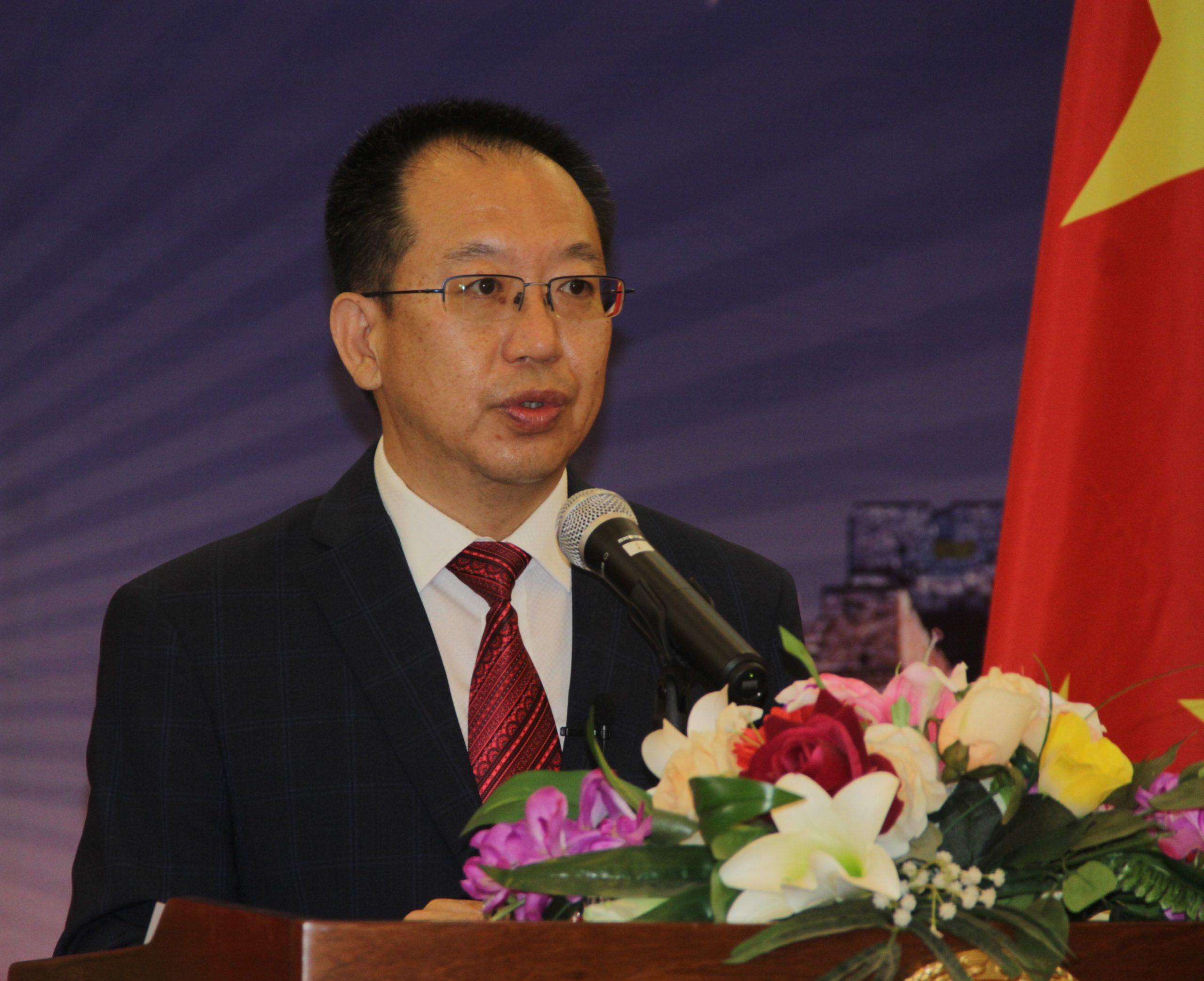Embaixador da China na Guiné-Bissau, Guo Ce